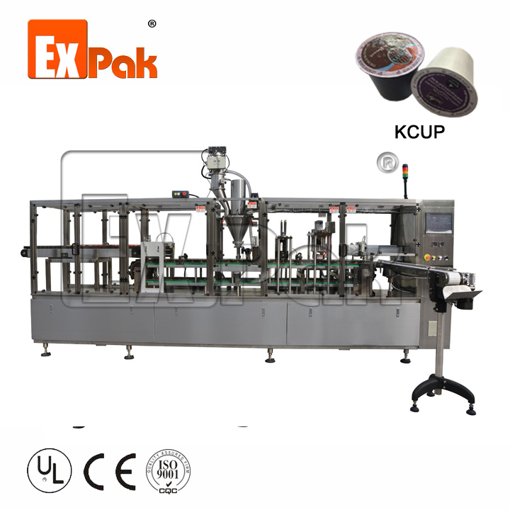 4-line kcup machine
