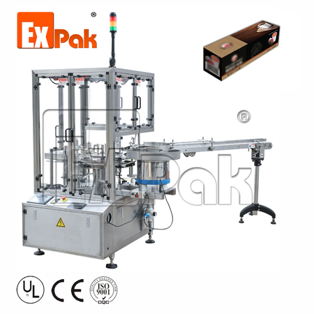 Rotary type Automatic Box Packing Machine