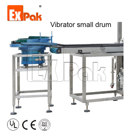 Automatic sorter(for non-stack capsules): vibrator small drum