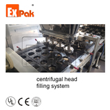 Filling system: centrifugal head